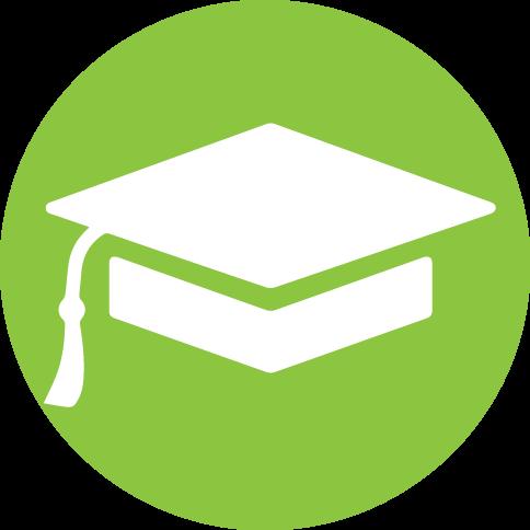 icône d'institutions scolaires et de recherche